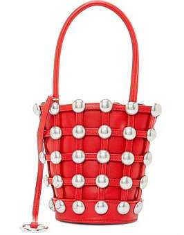 Alexander Wang Roxy Cage Mini Bucket With Dome Stud