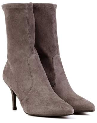 Stuart Weitzman Cling Mimi suede ankle boots
