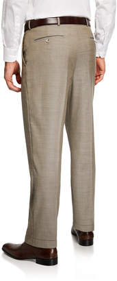 Neiman Marcus Men's Italian Wool Dress Pants