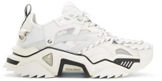 Calvin Klein White Strike 205 Sneakers