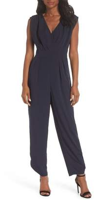 Chelsea28 Ruched Ankle Jumpsuit