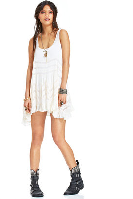 Free People Sleeveless Printed Trapeze Dress $88 thestylecure.com