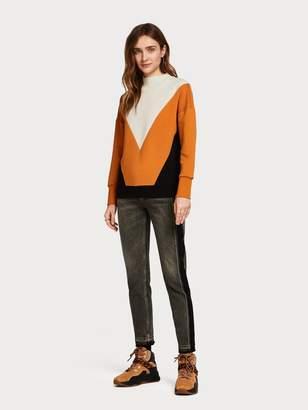 Scotch\U0020\U0026\U0020soda Colour Block Sweater