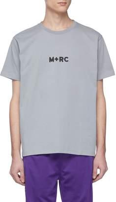 M+RC NOIR Logo print T-shirt