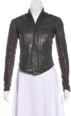 Veda Leather Moto Jacket