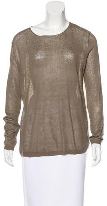 Brochu Walker Contrast Long Sleeve Sweater w/ Tags $125 thestylecure.com