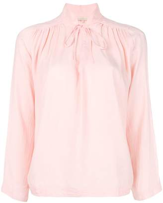Vanessa Bruno tie neck loose fit blouse