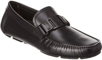 Salvatore Ferragamo Gardegna Ii Leather Loafer