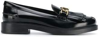 Tod's classic fringe embellished loafers