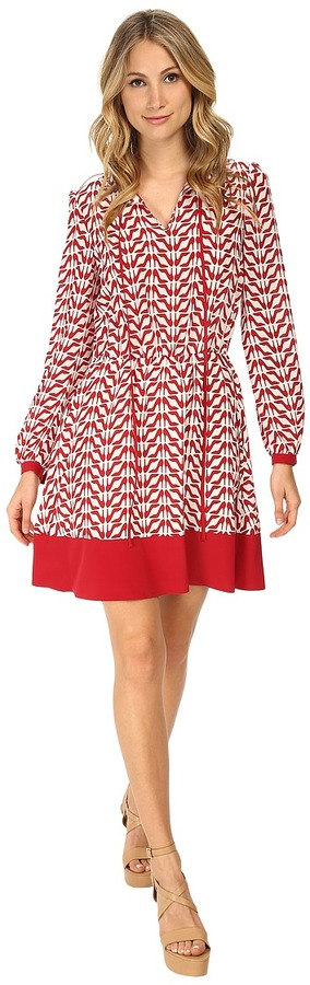 RED Valentino RED VALENTINO Slipper Print Dress