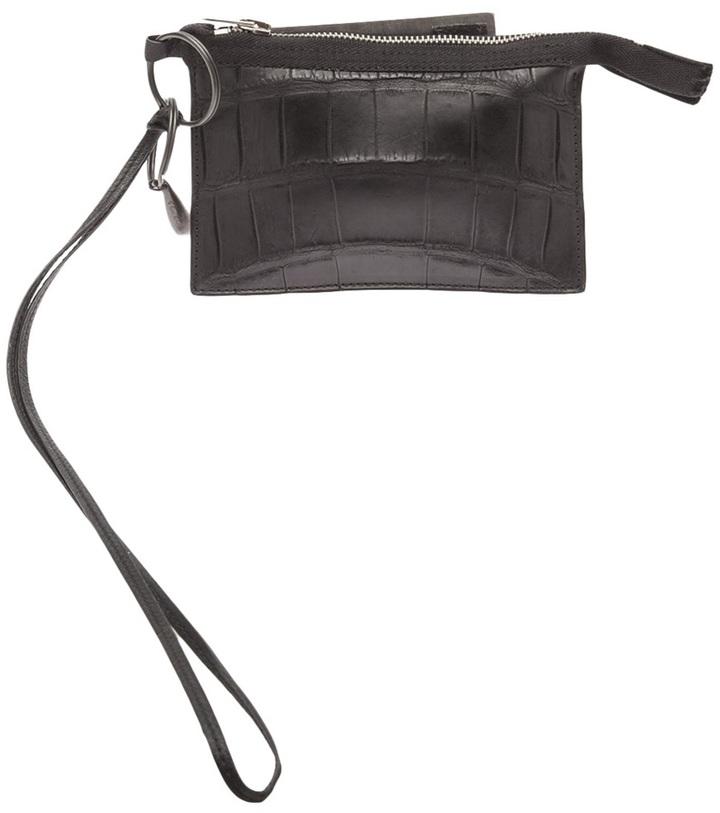 Rick Owens zip wallet