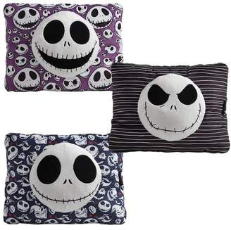 Pillow Pets Disney Nightmare Before Christmas Jack Skellington Pillow Combo Pack-Black, Blue, and Purple