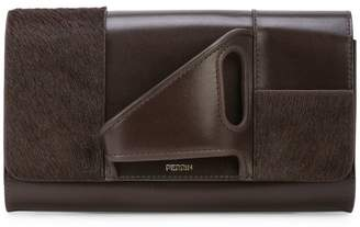 Perrin Paris L'Asymetrique glove clutch
