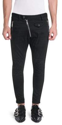 DSQUARED2 Asymetrical Zip Wool Pants