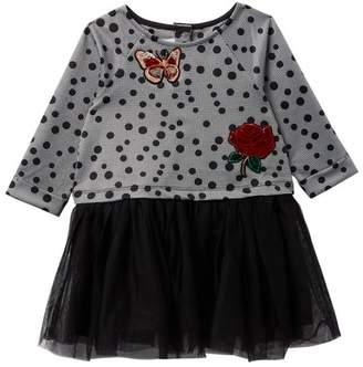 Pippa & Julie Polka Dot Tutu Dress (Toddler Girls)