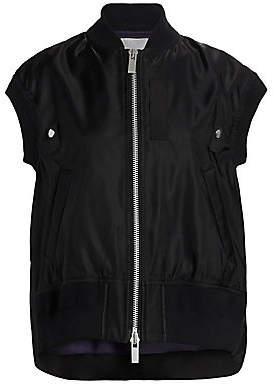 Sacai Women's MA-1 Vest