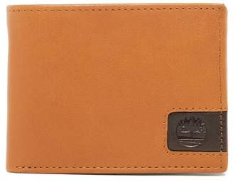 Timberland Cloudy Logo Leather Wallet