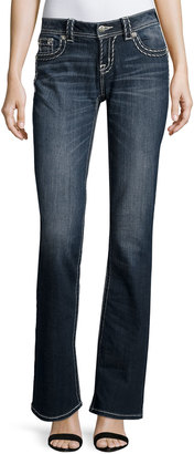 Miss Me Relaxed Boot-Cut Jeans, Dark 267 $69 thestylecure.com