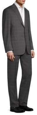 Brioni Classic Windowpane Suit
