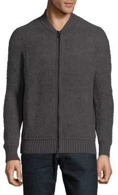 Vince Regular-Fit Teddy Bomber Jacket