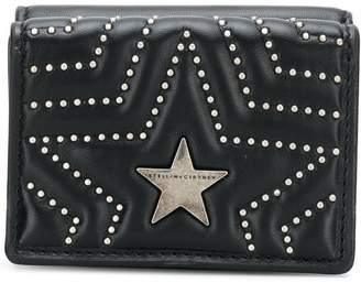Stella McCartney star stud wallet