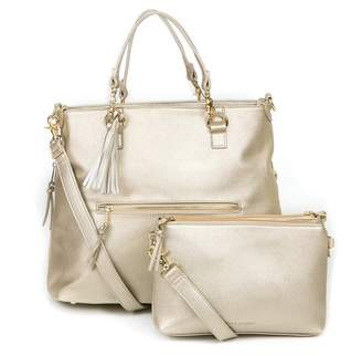 Baby Essentials Bella Tunno BOSS BAG DIAPER BAG BACKPACK, METALLIC