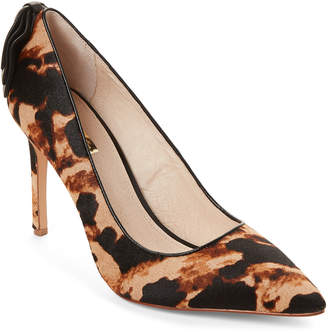 Louise et Cie Printed Josely Pointed Toe Pumps