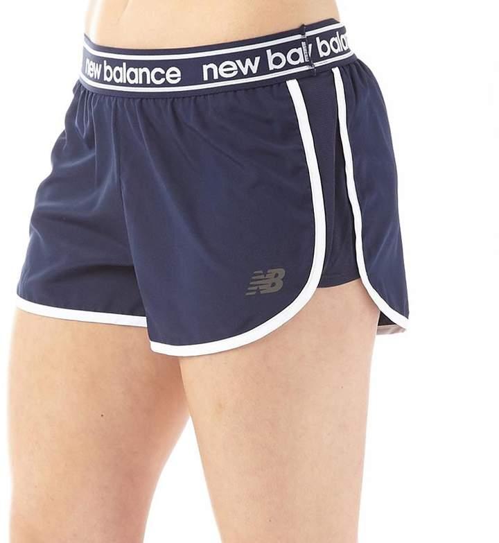 Damen Accelerate 2.5 Inch Shorts Navy