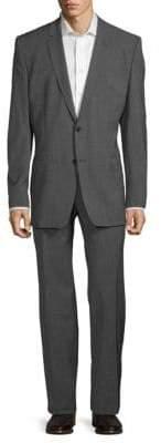 Versace Classic Fit Wool-Blend Suit