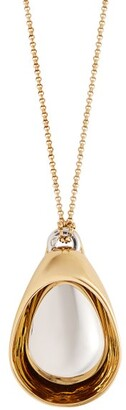 Charlotte Chesnais Collier Gold Vermeil Pendant Necklace - Womens - Gold
