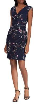 Lauren Ralph Lauren Floral-Printed Surplice Dress