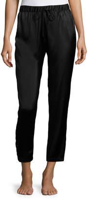 Josie Natori Silk Track Lounge Pants