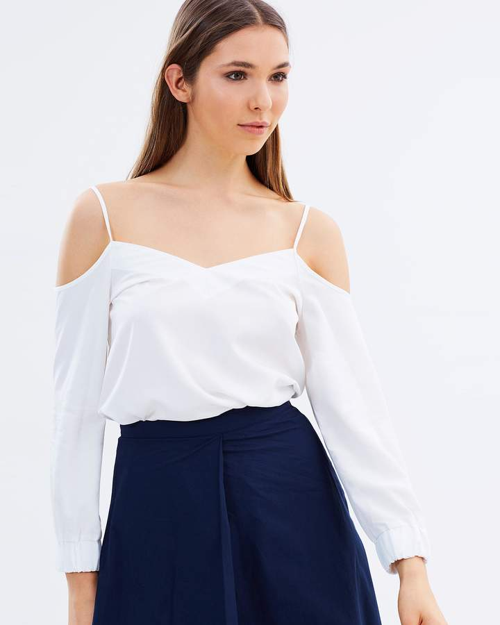 Warehouse Cami Cold Shoulder Top