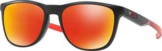 Oakley Men's Trillbe X Non-Polarized Iridium Rectangular Sunglasses