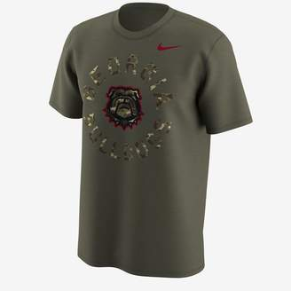 Nike College (LSU) Men's Camo T-Shirt