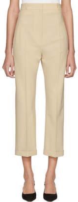 Jacquemus Beige Le Pantalon Droit Trousers