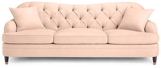 Kate Spade Drake Tufted Sofa - Powder Blush