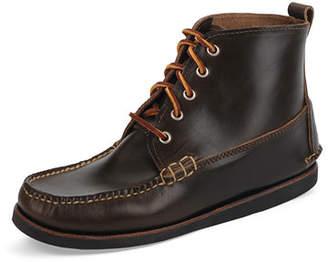 Eastland Seneca USA Camp Moc Chukka Boots, Dark Olive