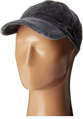 Hat Attack Velvet Baseball Cap Caps