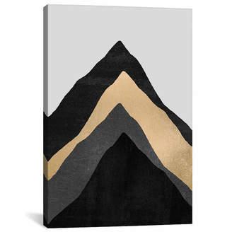iCanvas Four Mountains Canvas Art