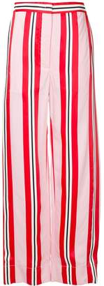 Cédric Charlier high rise palazzo trousers