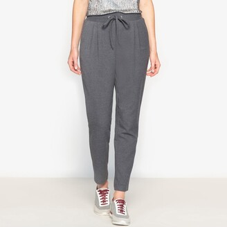 Anne Weyburn Flannel Look Trousers, Length 26.5""