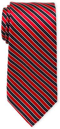 MICHAEL Michael Kors Red Stripe Silk Tie