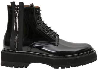 Givenchy Camden Lace-up Boots