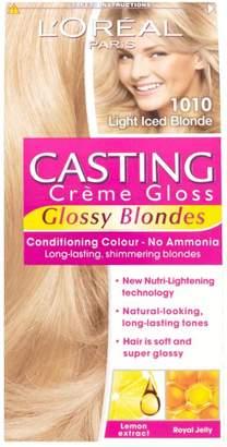 Casting Creme Gloss 1010 Light Iced Blonde Semi Permanent Hair Dye