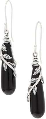 Or Paz Sterling Silver Elongated Gemstone Earrings
