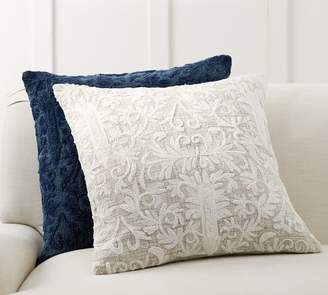 Pottery Barn Kiptyn Embroidered Pillow Cover