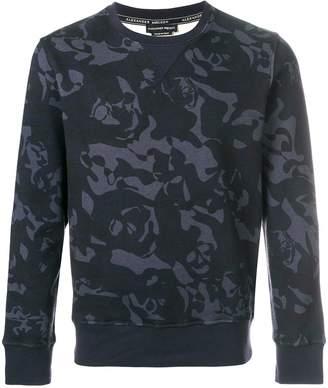 Alexander McQueen skull camouflage sweatshirt
