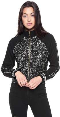 Juicy Couture French Terry Lace Jacket