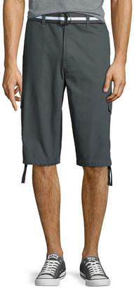 Southpole South Pole Belted Ripstop Cargo Shorts
